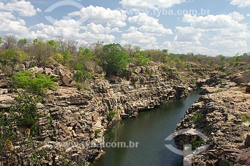 Assunto: Cânion do Rio Poty / Local: Buriti dos Montes - Piauí (PI) - Brasil / Data: 10/2009