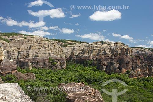 Assunto: Vista do Parque Nacional Serra da Capivara / Local: São Raimundo Nonato- Piauí (PI) - Brasil / Data: 08/2011
