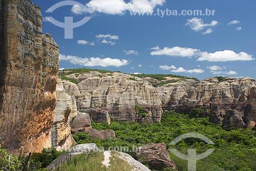 Assunto: Vista do Parque Nacional Serra da Capivara / Local: São Raimundo Nonato - Piauí (PI) - Brasil / Data: 01/2010
