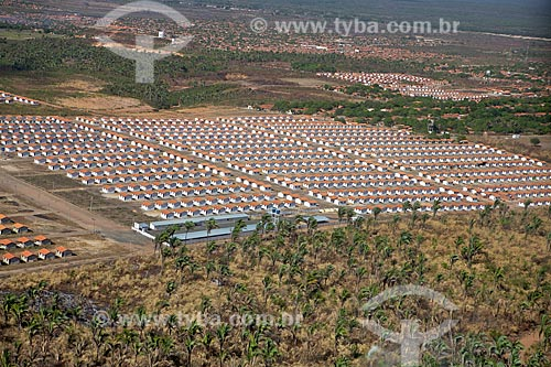 Assunto: Vista aérea do Residencial  Jacinta Andrade - Construida com recursos do PAC / Local: Teresina - Piauí (PI) - Brasil / Data: 09/2011