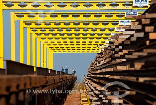 Assunto: Pátio de trilhos para a construcão da Ferrovia Transnordestina - TLSA - Transnordestina Logística S/A / Local: Salgueiro - Pernambuco (PE) - Brasil / Data: 10/2011