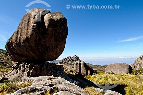 Assunto: Pedra da Maçã no Parque Nacional do Itatiaia - Planalto (Parte alta) / Local: Itatiaia - Rio de Janeiro (RJ) - Brasil / Data: 07/2010