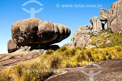 Assunto: Pedra da Tartaruga no Parque Nacional do Itatiaia - Planalto (Parte alta) / Local: Itatiaia - Rio de Janeiro (RJ) - Brasil / Data: 07/2010