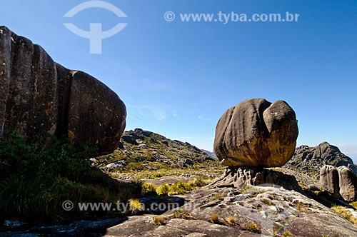 Assunto: Pedra da Maçã e Pedra da Tartaruga no Parque Nacional do Itatiaia - Planalto (Parte alta) / Local: Itatiaia - Rio de Janeiro (RJ) - Brasil / Data: 07/2010