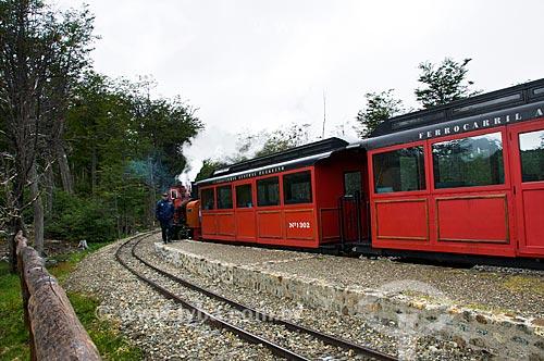 Assunto: Trem do Fim do Mundo / Local: Ushuaia - Província Terra do Fogo - Argentina - América do Sul / Data: 02/2010