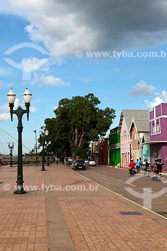 Assunto: Calçadão da Gameleira e rua de Rio Branco / Local: Rio Branco - Acre (AC) - Brasil / Data: 11/2011