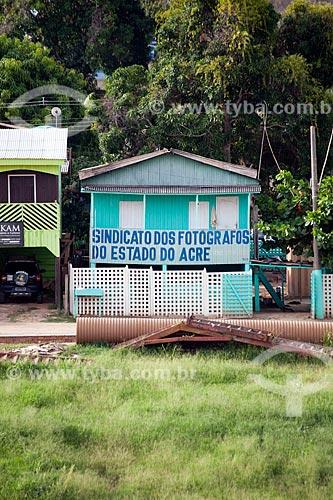 Assunto: Sede do Sindicato dos Fotógrafos do Estado do Acre / Local: Bairro Base - Rio Branco - Acre (AC) - Brasil / Data: 11/2011