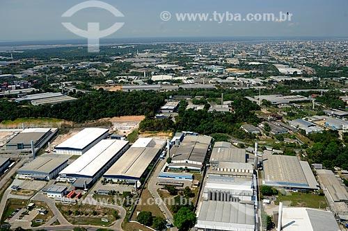 Assunto: Vista do Distrito Industrial Marechal Castello Branco - Zona Franca de Manaus / Local: Manaus - Amazonas (AM) - Brasil / Data: 11/2010