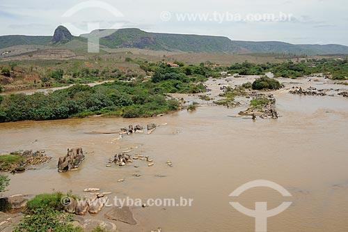 Assunto: Rio Jequitinhonha / Local: Coronel Murta - Minas Gerais (MG) - Brasil / Data: 11/2011