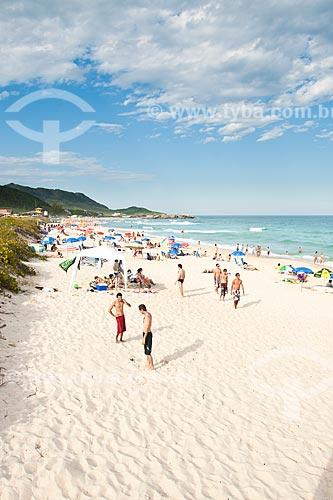 Assunto: Praia Mole - uma das praias mais movimentadas da Ilha de Santa Catarina durante o verão / Local: Florianópolis - Santa Catarina (SC) - Brasil / Data: 12/2011