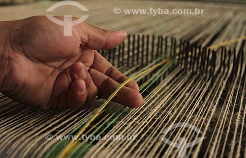 Assunto: Indústria têxtil Cooperfibras - Beneficiamento de Juta e Malva / Local: Manacapuru - Amazonas (AM) - Brasil / Data: 01/2012