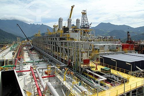 Assunto: Navio Plataforma FPSO Cidade de São Paulo no Estaleiro Brasfels / Local: Angra dos Reis - Rio de Janeiro (RJ) - Brasil / Data: 01/2012