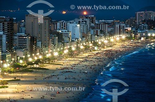 Assunto: Vista do Parque Penhasco Dois Irmãos para as Praias de Ipanema e Leblon   / Local: Rio de Janeiro (RJ) - Brasil / Data: 04/2011