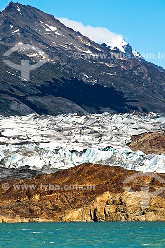 Assunto: Vista do Glaciar Viedma / Local: El Chalten - Província de Santa Cruz - Argentina - América do Sul / Data: 02/2010