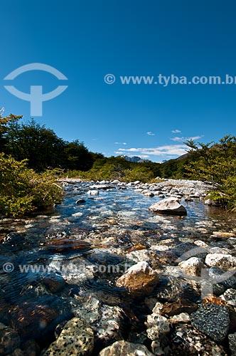 Assunto: Vista do Rio Blanco / Local: El Chalten - Província de Santa Cruz - Argentina - América do Sul / Data: 02/2010