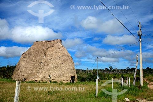 Assunto: Oca na Aldeia Karitiana - Porto Velho - Rondônia / Local: Porto Velho - Rondônia (RO) - Brasil / Data: 04/2011