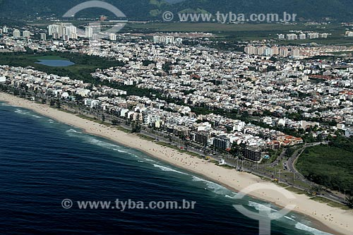 Assunto: Vista da Praia do Recreio / Local: Recreio dos Bandeirantes - Rio de Janeiro (RJ) - Brasil / Data: 01/2012