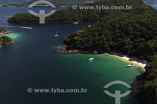 Assunto: Vista de Ilha Grande - Área de Proteção Ambiental de Tamoios - próximo à Freguesia de Santana  / Local: Distrito Ilha Grande - Angra dos Reis - Rio de Janeiro (RJ) - Brasil / Data: 01/2012