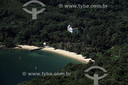 Assunto: Igreja de Santana - Área de Proteção Ambiental de Tamoios - Freguesia de Santana / Local: Distrito Ilha Grande - Angra dos Reis - Rio de Janeiro (RJ) - Brasil / Data: 01/2012