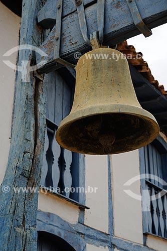 Assunto: Detalhe do sino de Igreja Católica / Local: Distrito Itira - Araçuaí - Minas Gerais (MG) - Brasil / Data: 11/2011