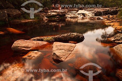 Assunto: Rio no Parque Nacional da Chapada Diamantina / Local: Bahia (BA) - Brasil / Data: 01/2012