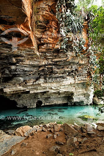 Assunto: Gruta da Pratinha - Parque Nacional da Chapada Diamantina / Local: Iraquara - Bahia (BA) - Brasil  / Data: 01/2012