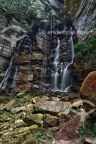 Assunto: Cachoeira Recanto Verde / Local: Ibicoara - Bahia (BA) - Brasil / Data: 01/2012