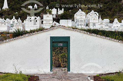 Assunto: Cemitério Bizantino / Local: Mucugê - Bahia (BA) - Brasil / Data: 01/2012