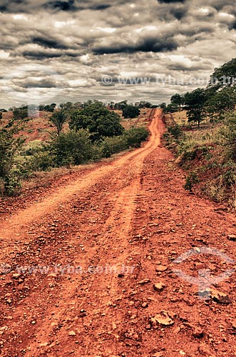 Assunto: Estrada de terra para Igatu / Local: Andaraí - Bahia (BA) - Brasil / Data: 01/2012