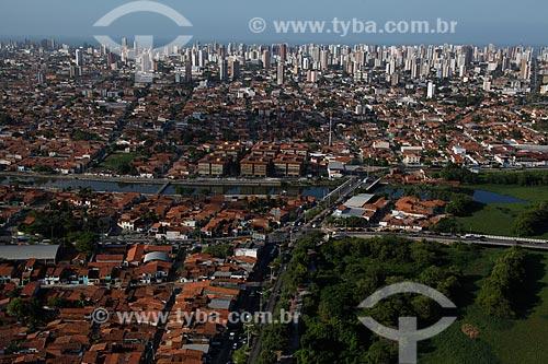 Assunto: Vista aérea de Fortaleza / Local: Fortaleza - Ceará (CE) - Brasil / Data: 12/2011