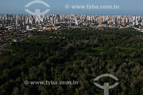 Assunto: Vista aérea do Parque Ecológico do Cocó / Local: Fortaleza - Ceará (CE) - Brasil / Data: 12/2011