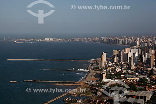Assunto: Prédios na orla de Fortaleza / Local: Meireles - Fortaleza - Ceará (CE) - Brasil / Data: 12/2011