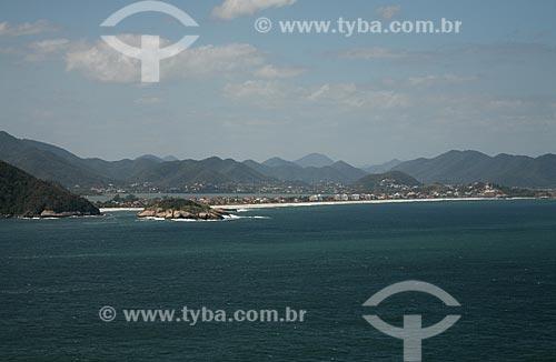 Assunto: Vista aérea da Praia de Piratininga / Local: Niterói - Rio de Janeiro (RJ) - Brasil / Data: 09/2011