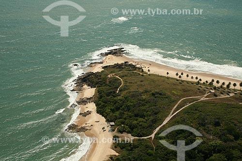 Assunto: Vista aérea da Praia da Pedra do Xaréu / Local: Cabo de Santo Agostinho - Pernambuco (PE) - Brasil / Data: 10/2011