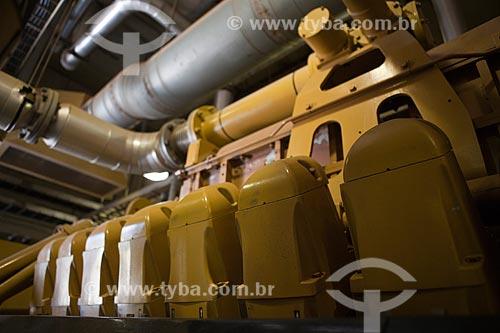 Assunto: Motogeradores de usina de geração Termoelétrica movida a Biogás - São João Energia Ambiental   / Local: São Paulo (SP) - Brasil / Data: 09/2011