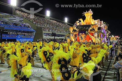 Assunto: Desfile da Escola de Samba São Clemente / Local: Rio de Janeiro (RJ) - Brasil / Data: 02/2012