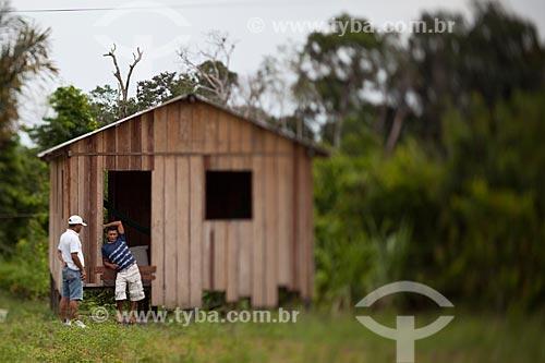 Assunto: Comunidade ribeirinha de Bom Jesus do Puduarí / Local: Novo Airão - Amazonas (AM) - Brasil / Data: 10/2011