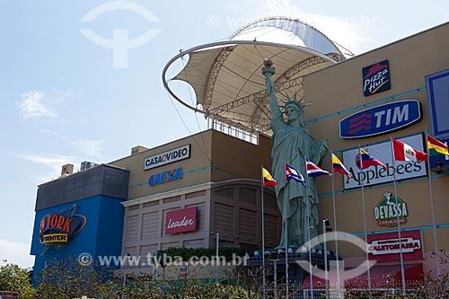 Assunto: Réplica da Estátua da Liberdade no Shopping New York City Center / Local: Barra da Tijuca - Rio de Janeiro (RJ) - Brasil / Data: 03/2012