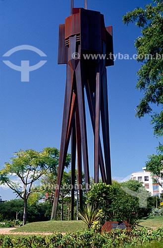 Assunto: Monumento Castelo Branco no Parque Moinhos de Vento / Local: Porto Alegre - Rio Grande do Sul (RS) - Brasil / Data: 09/2009