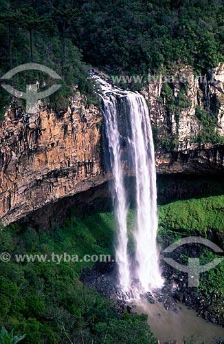 Assunto: Vista da Cascata do Caracol / Local: Canela - Rio Grande do Sul (RS) - Brasil / Data: 03/2009