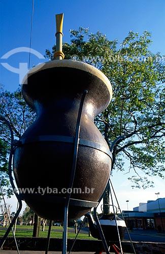 Assunto: Monumento da Cuia / Local: Palmeira das Missões - Rio Grande do Sul (RS) - Brasil / Data: 11/2010