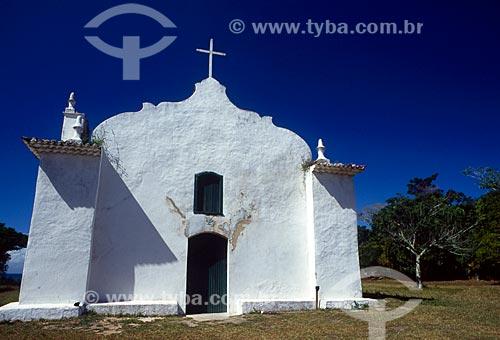 Assunto: Igreja de São João Batista - Quadrado de Trancoso / Local: Distrito Trancoso - Porto Seguro - Bahia (BA) - Brasil / Data: 08/2007
