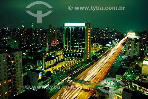 Assunto: Vista da Avenida 23 de Maio / Local: São Paulo (SP) - Brasil / Data: 05/2009