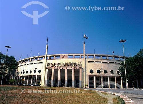 Assunto: Vista do Estádio Pacaembu - Estádio Municipal Paulo Machado de Carvalho  / Local: São Paulo (SP) - Brasil / Data: 05/2009