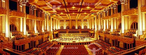 Assunto: Sala São Paulo iluminada - Sede da Orquestra Sinfônica do Estado de São Paulo / Local: São Paulo (SP) - Brasil / Data: 05/2009
