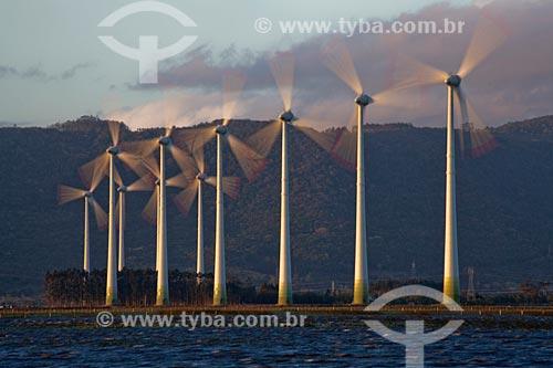 Assunto: Geradores de energia eólica do Parque Eólico de Osório / Local: Osório - Rio Grande do Sul (RS) Brasil  / Data: 09/2011