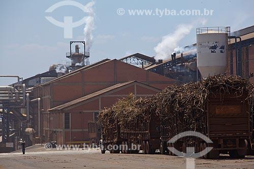 Assunto: Usina de Cogeração (açúcar, etanol e energia elétrica) da empresa Guarani  / Local: Olímpia - São Paulo (SP) - Brasil  / Data: 09/2011