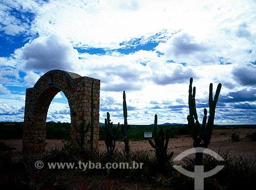 Assunto: Portal Memorial de Canudos / Local: Canudos - Bahia (BA) - Brasil / Data: 08/2007