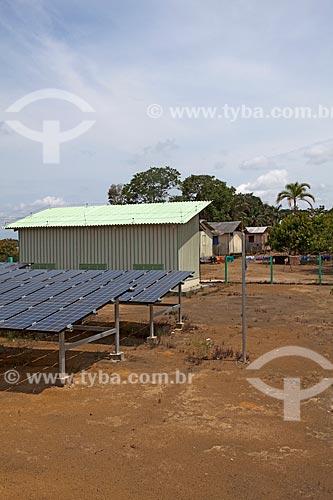 Assunto: Miniusina Fotovoltaica de Aracari / Novo Airão - Amazonas (AM) - Brasil / Data: 10/2011