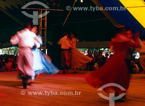 Assunto: Rodeio de Vacaria - Dança típica do Rio Grande do Sul  / Local: Rio Grande do Sul (RS) - Brasil / Data: 09/2009